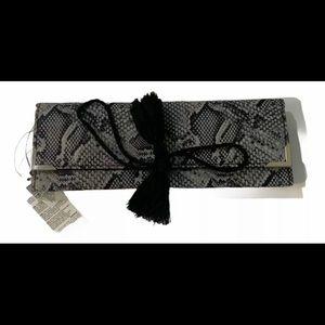 WHBM Fold Up Cosmetic Makeup Brush Bag NWT